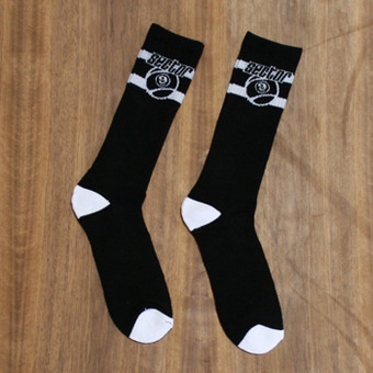 Sector 9 9 Ball Socks - Black