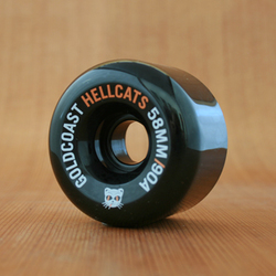 GoldCoast Hellcats 58mm 90a Wheels - Black