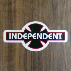 "Independent Sticker 6"" OGBC"