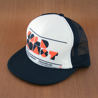 GoldCoast Trucker Hat - Black/White