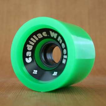 Cadillac Cruisers 70mm 80a Wheels - Green