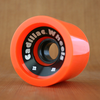 Cadillac Cruisers 70mm 80a Wheels - Orange