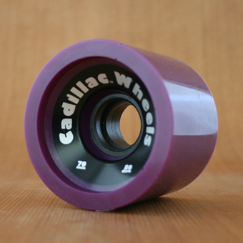 Cadillac Cruisers 70mm 80a Wheels - Purple