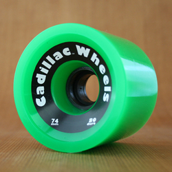 Cadillac Cruisers 74mm 80a Wheels - Green