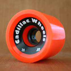 Cadillac 74mm 80a Cruzers Orange Wheels