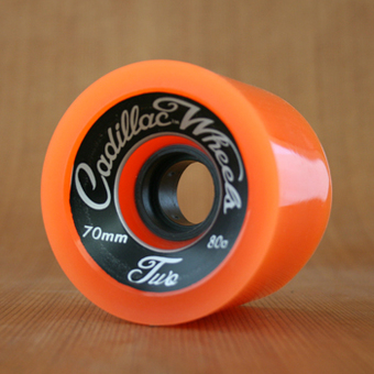 Cadillac Classic Two 70mm 80a Wheels - Orange