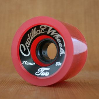 Cadillac Classic Two 70mm 80a Wheels - Red