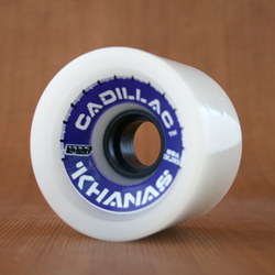 Cadillac 70mm 83a Khanas White Wheels