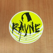 Rayne Sticker Yellow Round