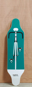 "Madrid 38"" Bike Longboard Deck"