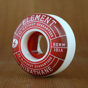 Element Impact Red 50mm Wheels