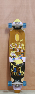 "Sector 9 38.25"" Mr. Tudor Brown Longboard Complete"