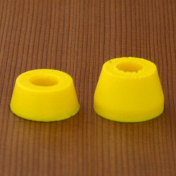Venom SHR Street 83a Bushings - Pastel Yellow