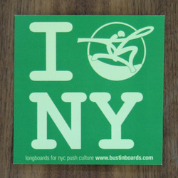 "Bustin Sticker 4"" I Bustin NY Green"