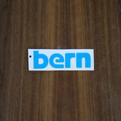 "Bern Sticker 4"" Blue"