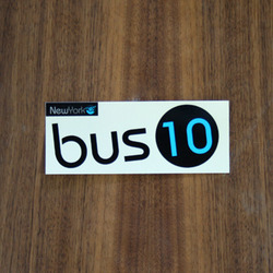 "Bustin Sticker 5"" Bus10"