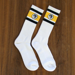 Sector 9 Vintage Socks - White