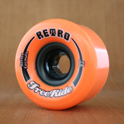 Abec11 Retro Freeride 72mm 89a Wheels - Orange Plus