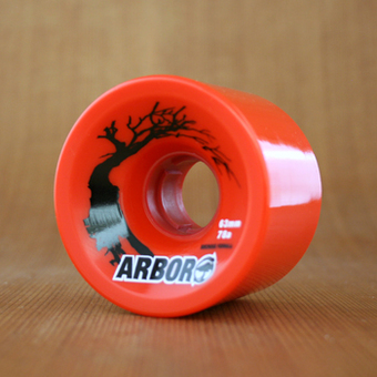 Arbor Hybrid 63mm 78a Wheels - Red