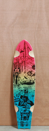 "Arbor 33.25"" Rally Cork Longboard Deck"