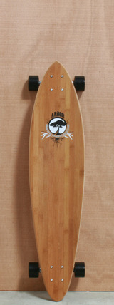 "Arbor 38"" Fish Bamboo Longboard Complete"