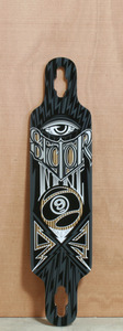 "Sector 9 39"" Seeker Brown Longboard Deck"
