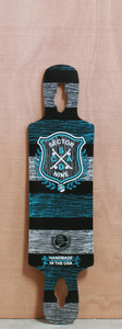 "Sector 9 38.5"" 2012 Sprocket Blue Longboard Deck"