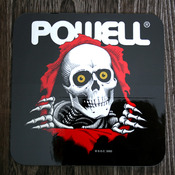 Powell Sticker Ripper Bumper Black