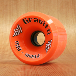 Gravity Hi-Grade 76mm 80a Wheels - Orange