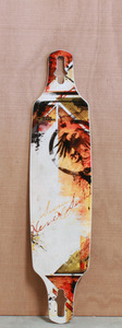 "Never Summer 41"" Descent DT Longboard Deck"