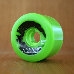 Arbor Street 65mm 78a Wheels - Green