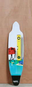 "Madrid 36"" Stileben Longboard Deck"