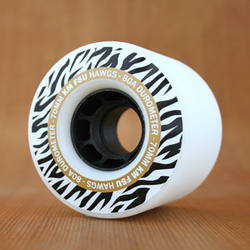 Hawgs Kyle Martin 70mm 80a Stone Ground Freeride Wheels