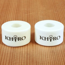Khiro Double Barrel 73a White Bushings