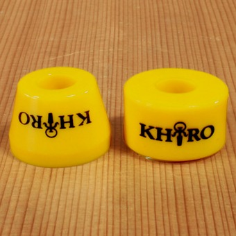 Khiro Tall Cone Combo 92a Bushings - Yellow