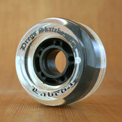 Dregs 70mm 78a Clear Wheels