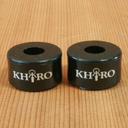 Khiro Double Barrel 95a Black Bushings