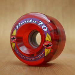 Kryptonics Route 70mm 78a Red Wheels