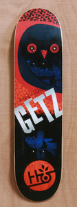 "Habitat Getz Twilight 8.0"" Skateboard Deck"