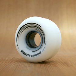 Gravity Sliders 60mm 99a Wheels - White