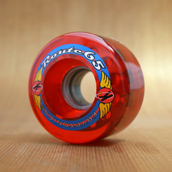 Kryptonics Route 65mm 78a Red Wheels