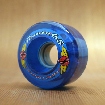 Kryptonics Route 65mm 78a Wheels - Blue