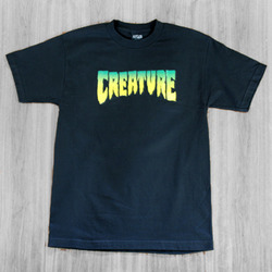 Creature Logo Black T-shirt