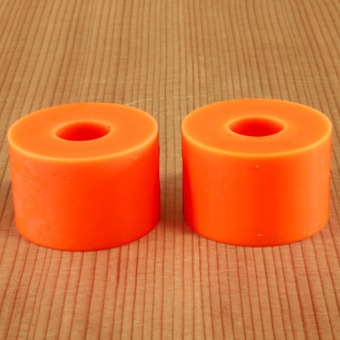 Abec11 Reflex Short Barrel 89a Bushings - Orange Plus