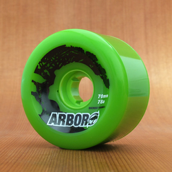 Arbor Street 70mm 78a Wheels - Green