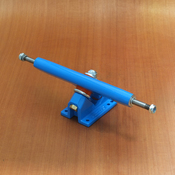 "Caliber 10"" Blue 50 Cal Trucks"
