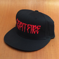 Spitfire Killer Snap Back Hat - Black/Red