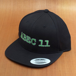 Abec11 Buddy Logo Snap Back Hat - Black
