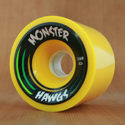 Hawgs Monster 76mm 82a Wheels - Yellow