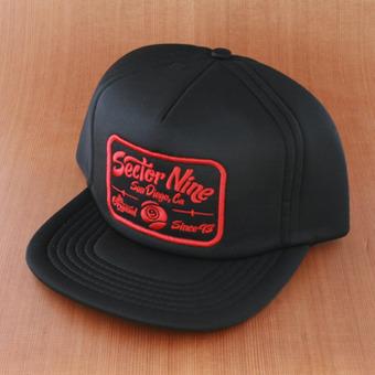 Sector 9 Freshy Trucker Hat - Black